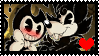 Bendy x Boris .:Stamp:. by amandinhas
