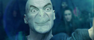 Voldemort and Mr. Bean Collide