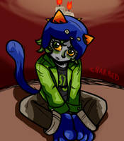 Pouty Nepeta by Magnum13