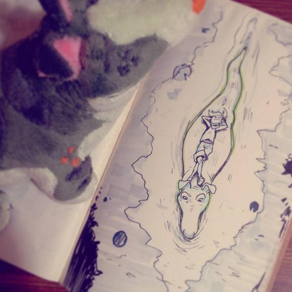RiverNap by Gatordog