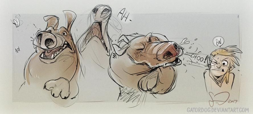 Gatordog Sneeze! by Gatordog