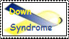 Down Syndrome Ribbon Stamp by paradox--division