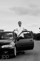 Nick and his Civic by Magoo1222