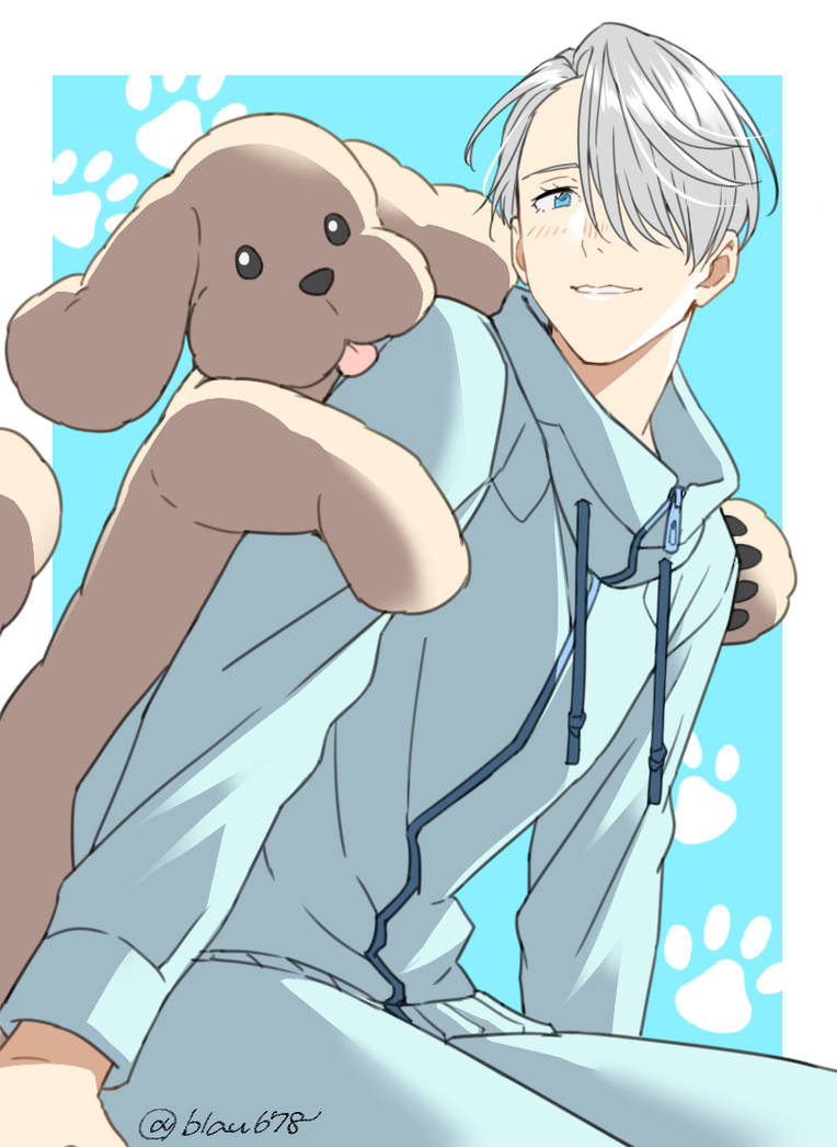 Victor Nikiforov x Male Reader Doggy Love by Romacat on
