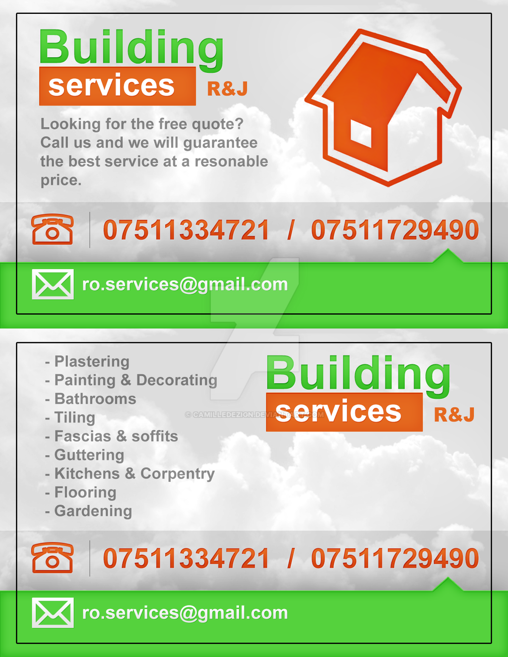 Building Services - Business card by camilledezign on DeviantArt