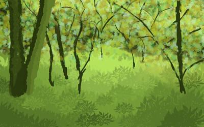 Forest - July 2012 Week 3 by Bairn-Owl