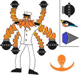 Captain Cole. ARMS OC by javiermetal66