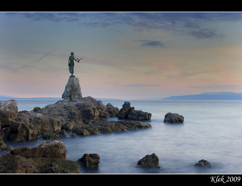 Opatija Sunset 3 by Klek
