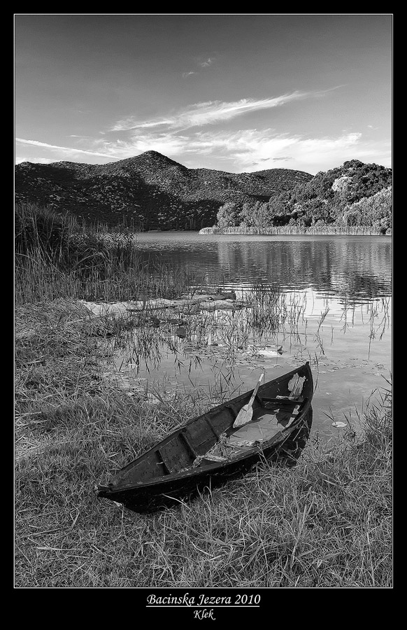 Bacinska Jezera by Klek