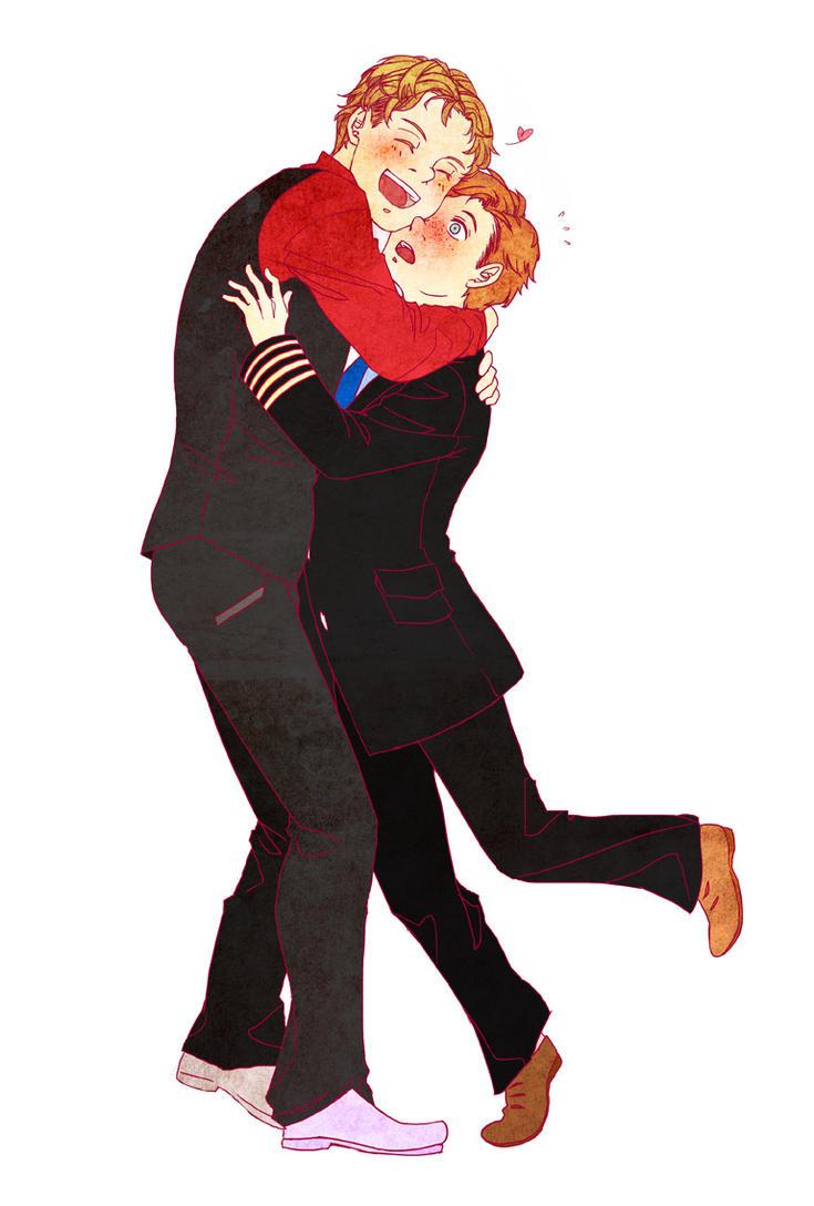 Hug a Skipper Day! by fettucine