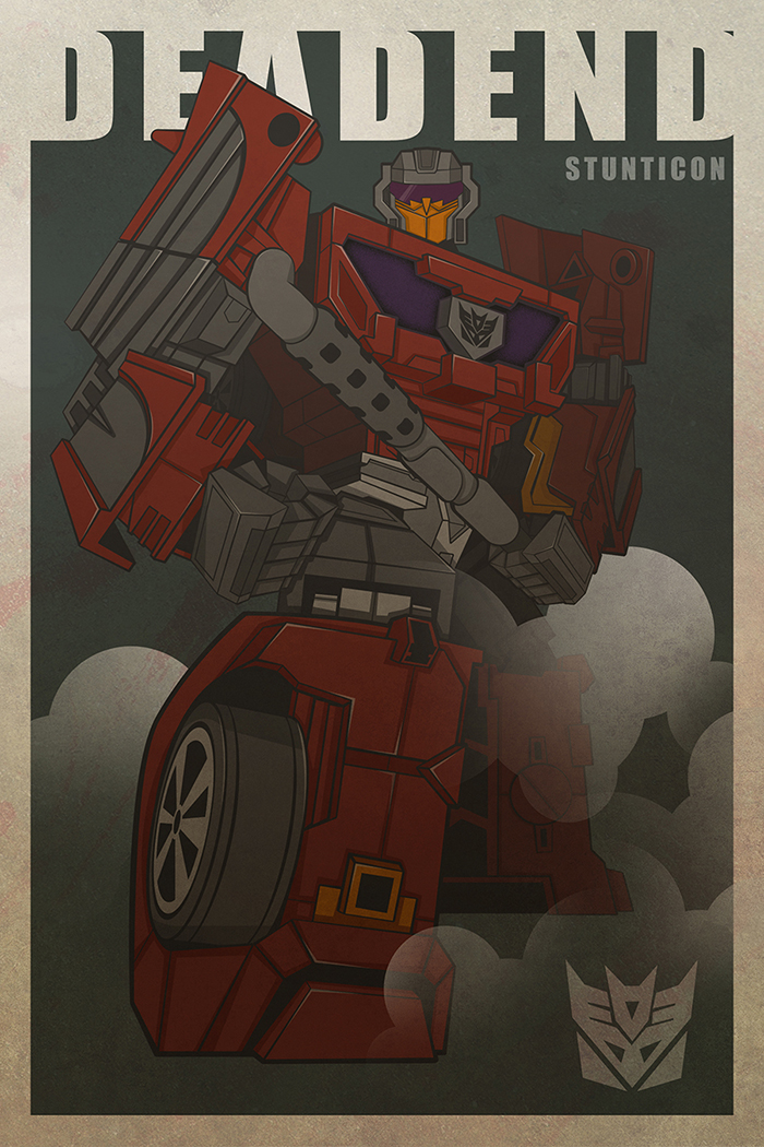 Deadend-Stunticons by The-Cosmic-Kid