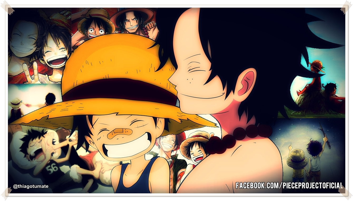 brothers luffy and ace wallpaper - photo #7