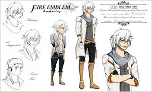 .: Fire Emblem Awakening: Cole Sheet :. by IgnisPectus