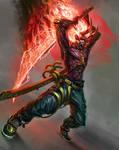 Demon Swordsman (commission)