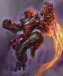 Devil dragon (commission)