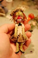 school girl zombie by Woodedwoods