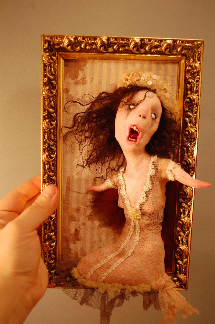 Olya, worm woman by Woodedwoods
