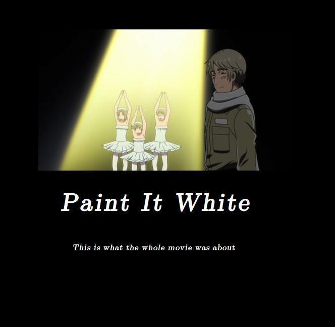 Hetalia Russia Screenshot Paint It White by MyWo...