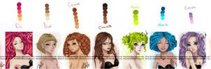 Hair Palette.