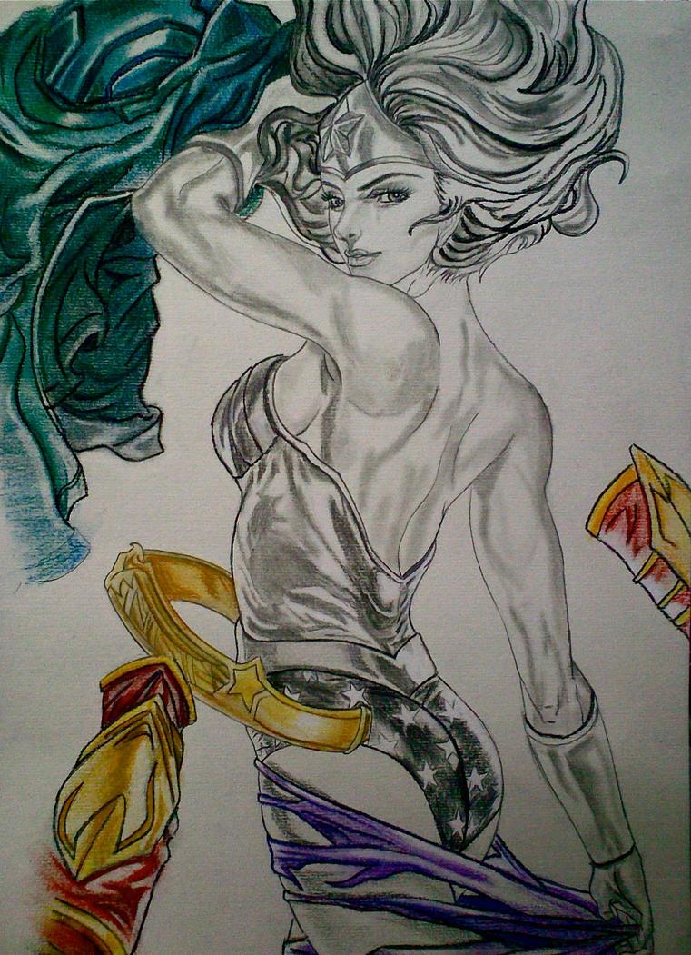 wonder woman fan art. by rimrimrim