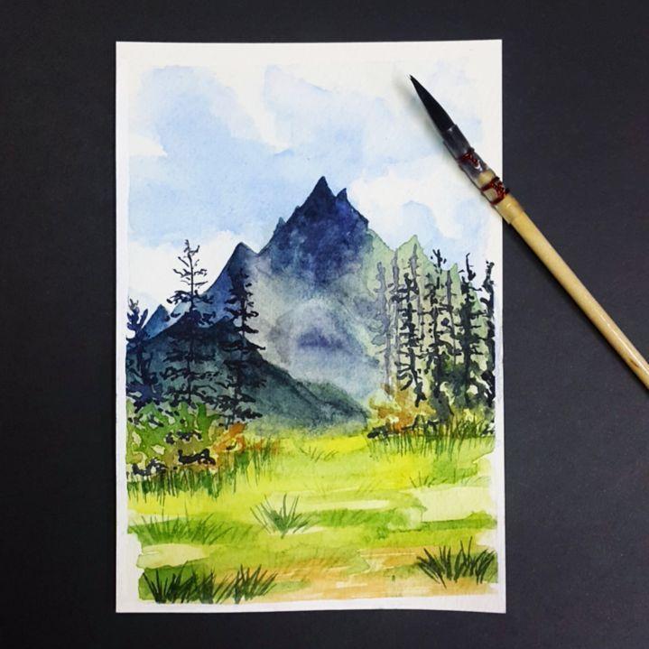 Mountains by rimrimrim
