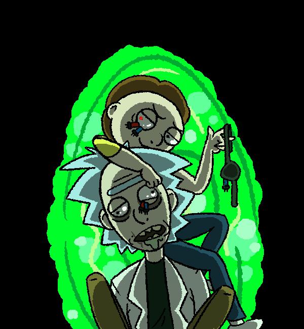 Mortys Rule, Ricks Drool by Kziira