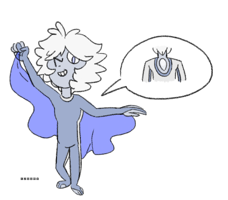 Pearlsona, Silver-Blue by Kziira