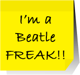 post it - Im a beatlefreak by agosbeatle