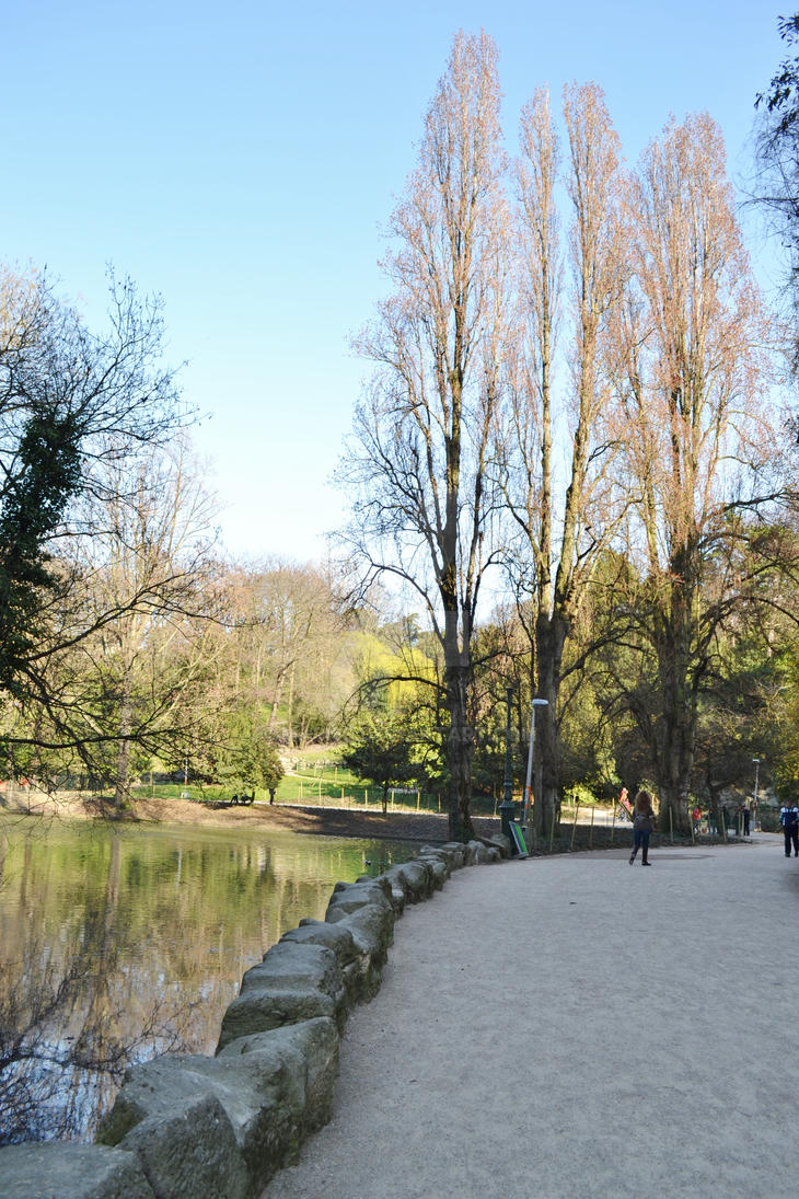 Buttes Chaumont 4 - Sunlight by mari6s
