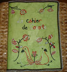 Embroidered Notebook : le Cahier de Cocotte