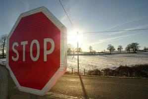Snowed in (1) - Stop Sign