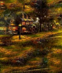The Soft Light Background by RossLana