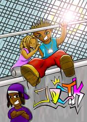 Shyro Swizz and Gaby Chill'n by JDCTK88