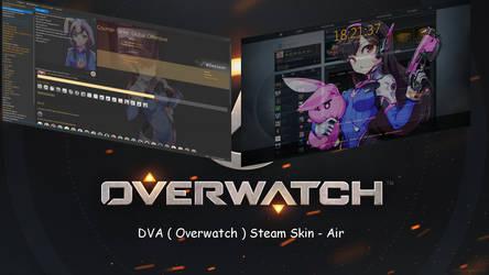 DVA ( Overwatch ) Steam Skin - Air by squallala1337