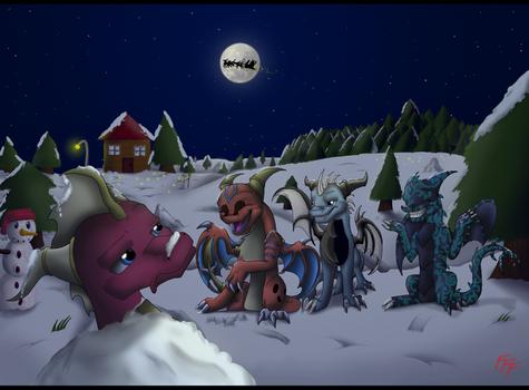 Winter Fun by VanillaHellen
