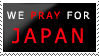 STAMP We Pray 4 Japan by Fire-Flame-Fan