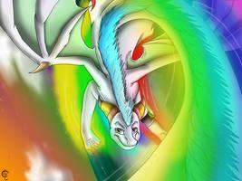 CE: Hyper Rainbow by VanillaHellen