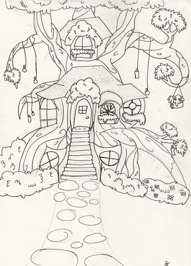 Alice's Tree by bluestarproduction