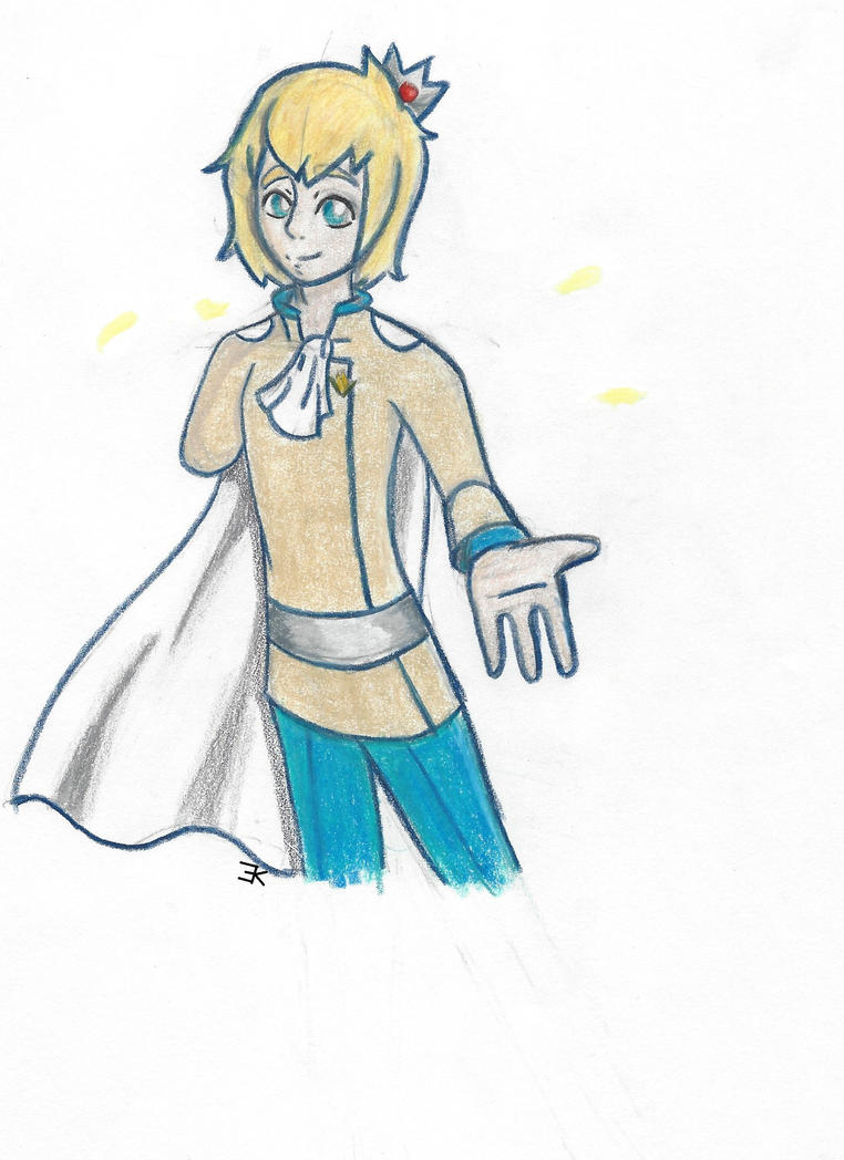 Yellow Rose: Prince Percival by bluestarproduction