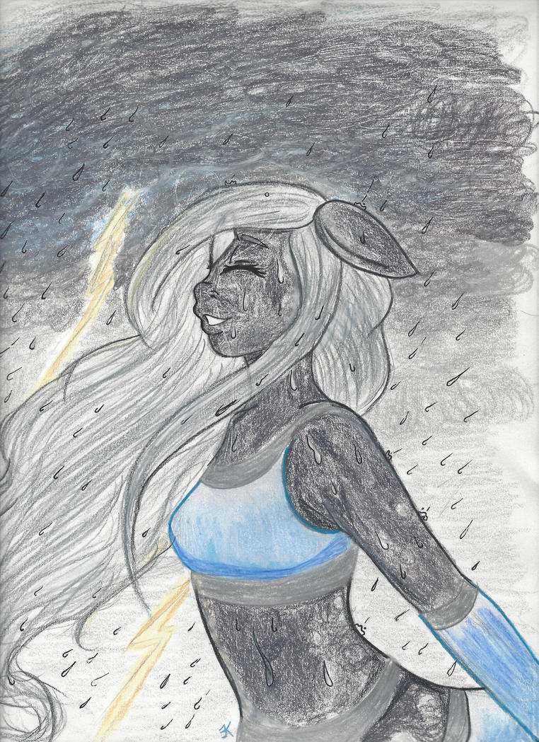 She don't just Rain, She Pours, by bluestarproduction