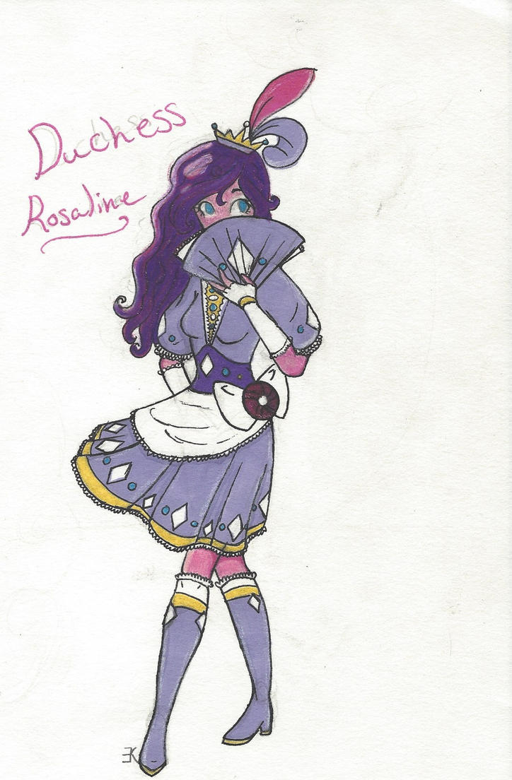 Duchess Rosaline by bluestarproduction