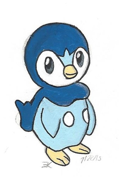 Piplup by bluestarproduction
