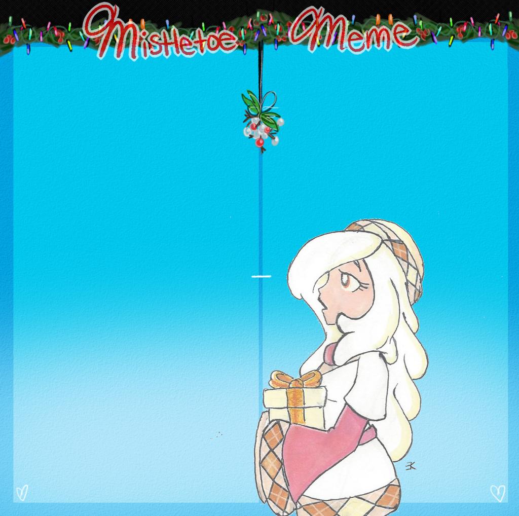 AT Mistletoe Meme: Laurel by bluestarproduction