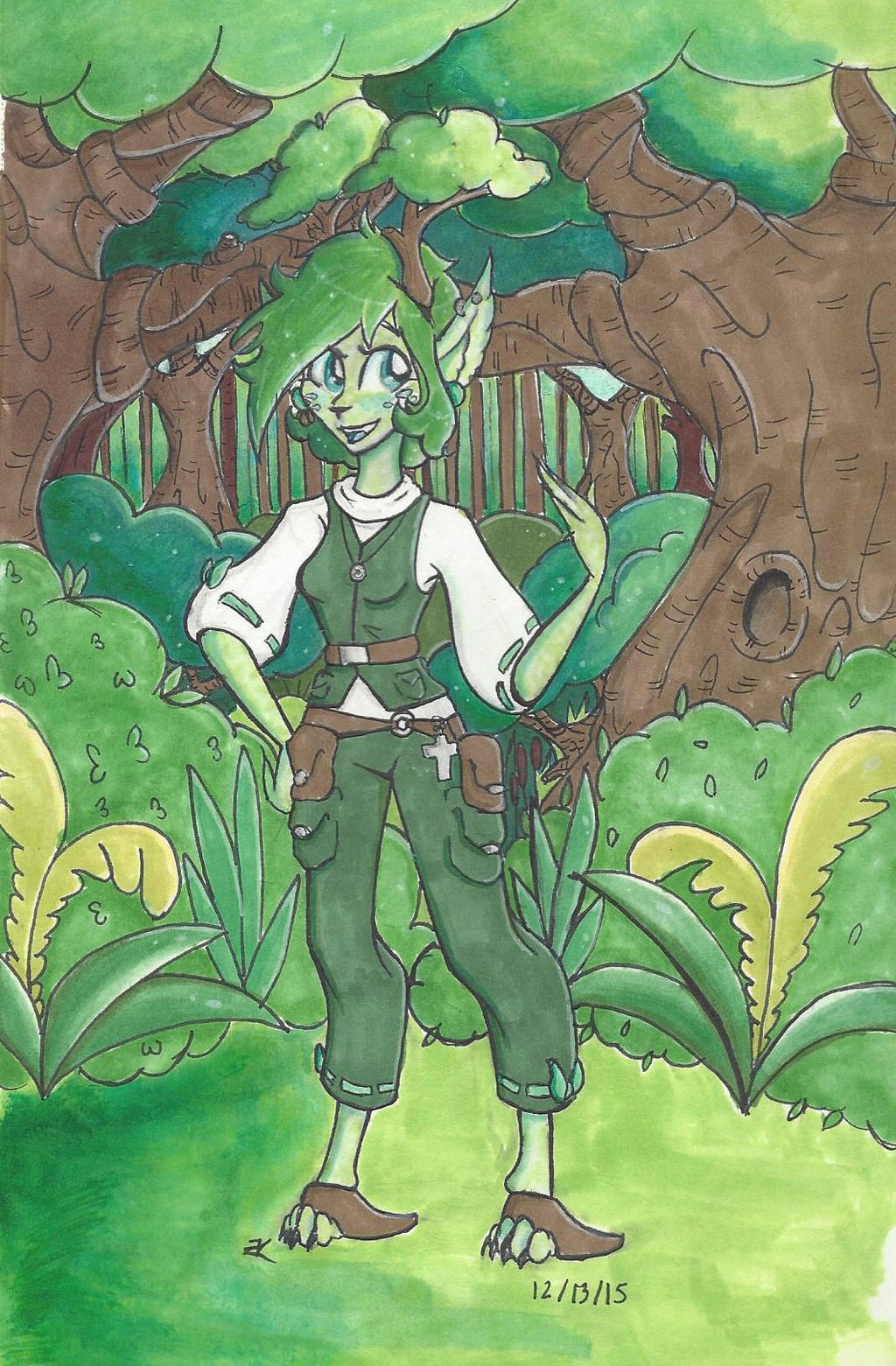 Character Introduction: Xylia by bluestarproduction