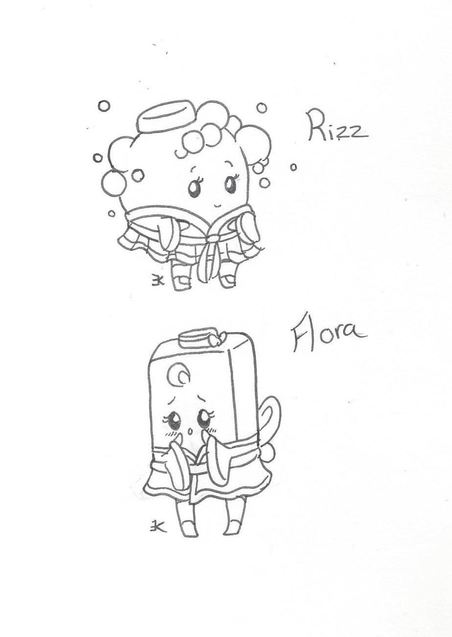 Bath Citizens: Rizz and Flora by bluestarproduction