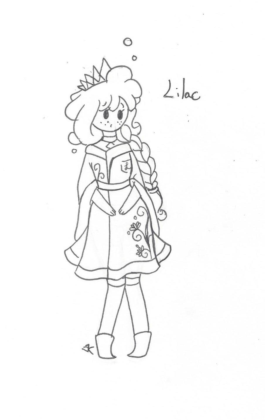 Bath Citizens: Princess Lilac by bluestarproduction
