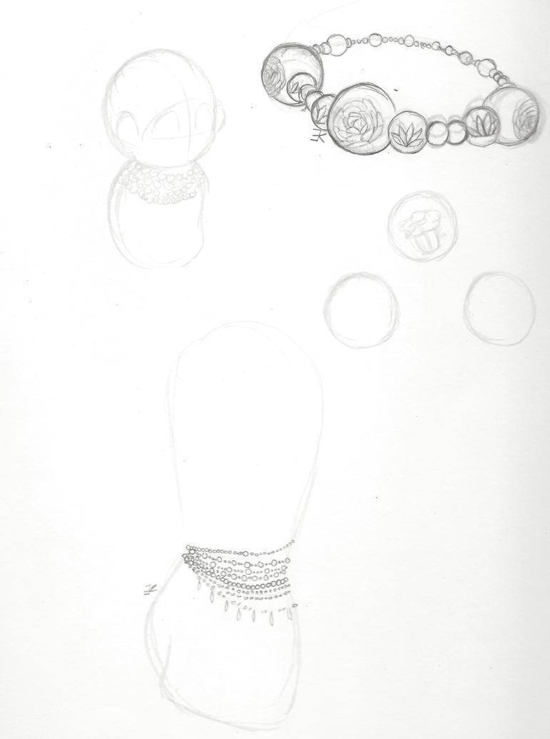 Sketch Dump: Bath Culture- Necklaces by bluestarproduction