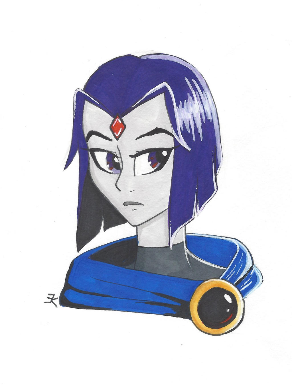 Raven by bluestarproduction