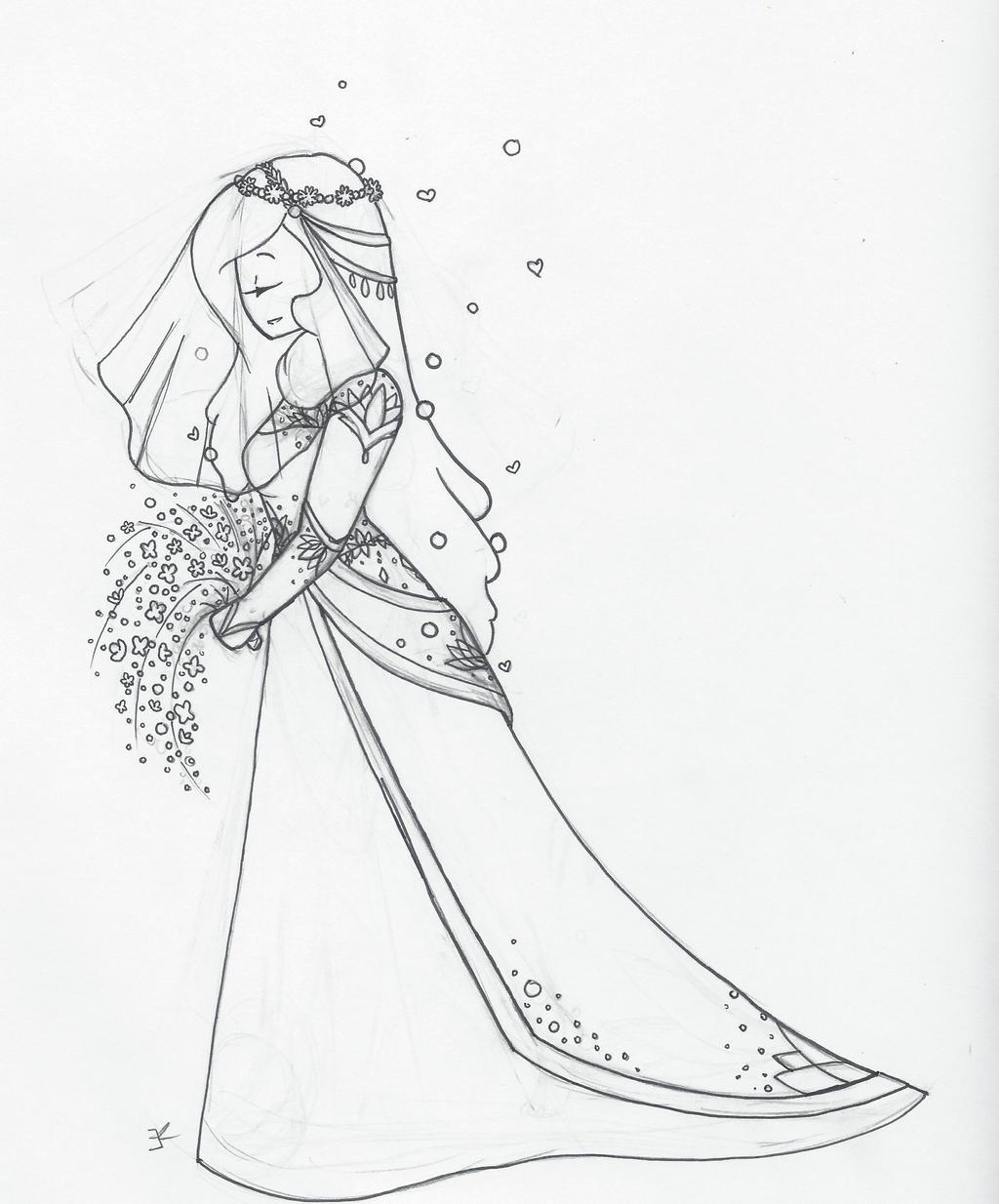 Bubbly Bride by bluestarproduction