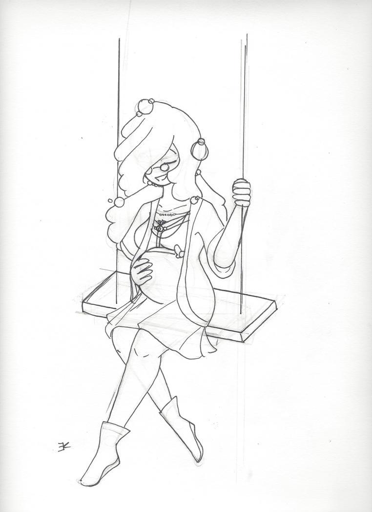 Sketch: Swing by bluestarproduction